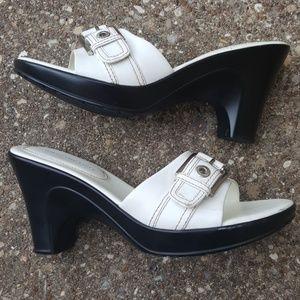 Tommy Hilfiger Ginger Slip on Heel Sandals 7.5